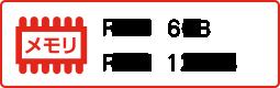 RAM6GB ROM128GB