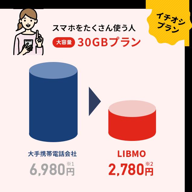 大容量30GBプラン